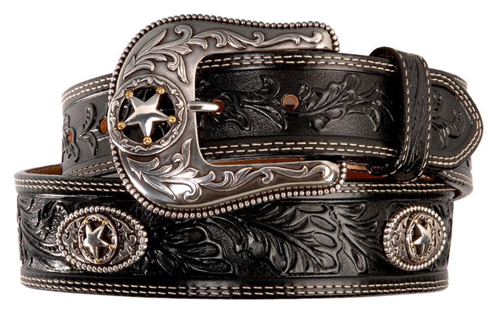 Justin Ranch Star Concho Belt