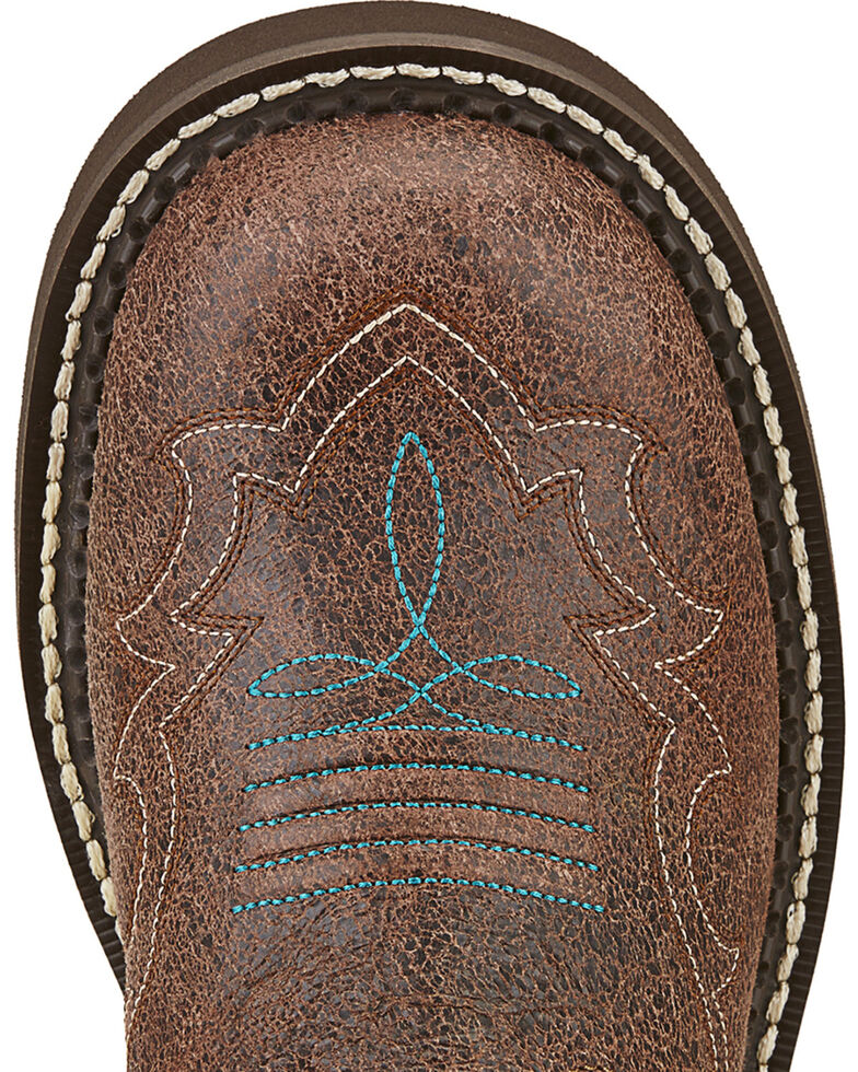 Ariat Fatbaby Heritage Harmony - Round Toe, Brown, hi-res