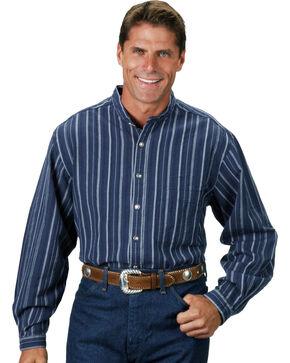 Rangewear by Scully Lawman Shirt, Blue Stripe, hi-res
