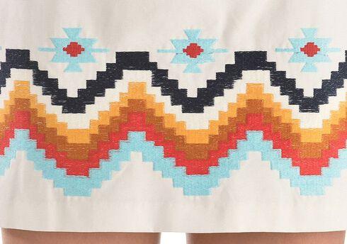 Ariat Chahta Skirt, White, hi-res