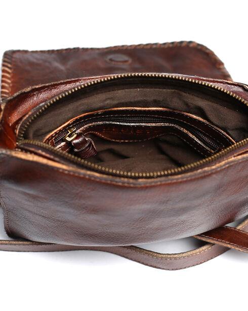 Bed Stu Women's Frankie Teak Rustic Crossbody Bag, Dark Brown, hi-res