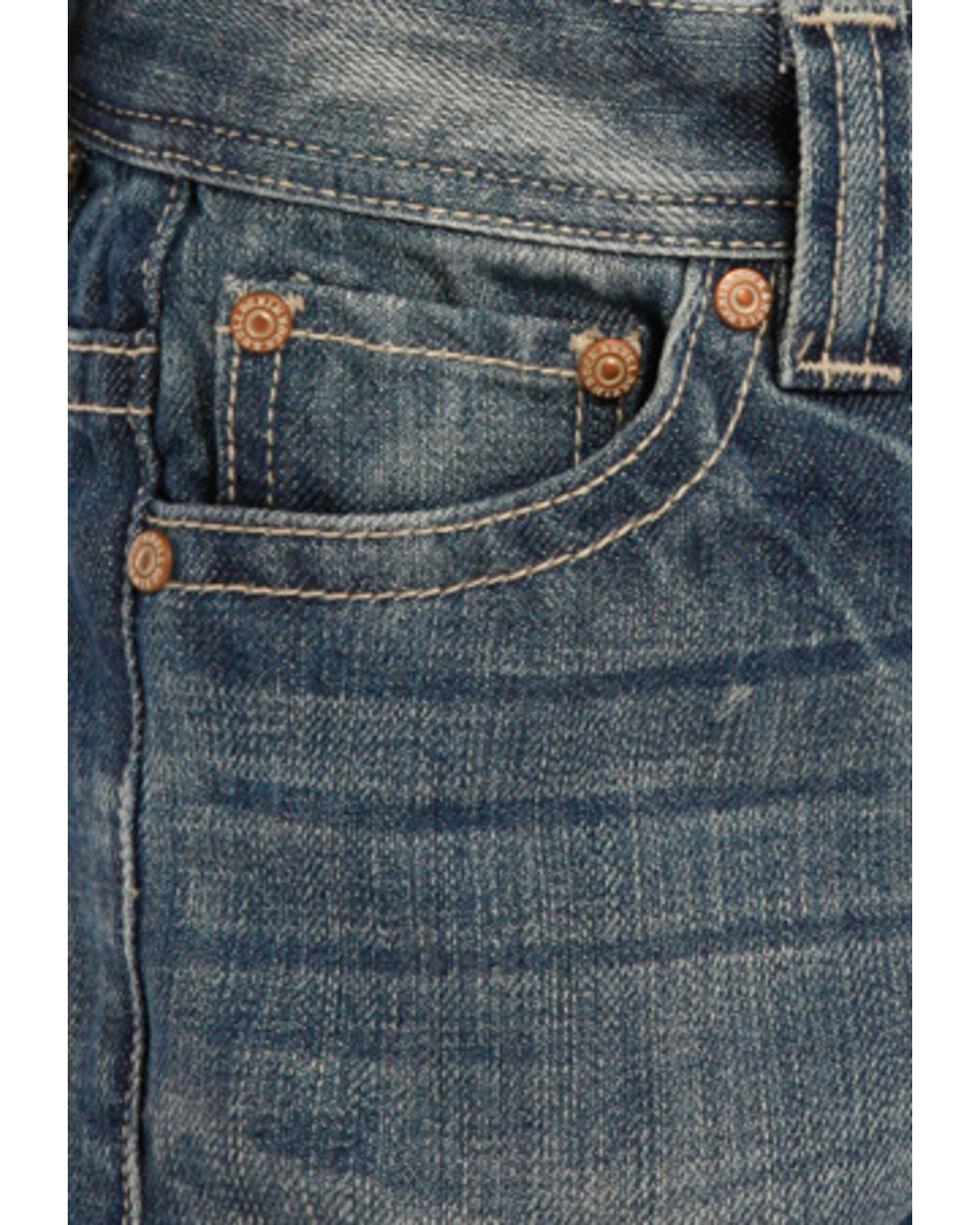 """Rock & Roll Boys' Small """"V"""" Regular Fit Jeans - Boot Cut, , hi-res"""