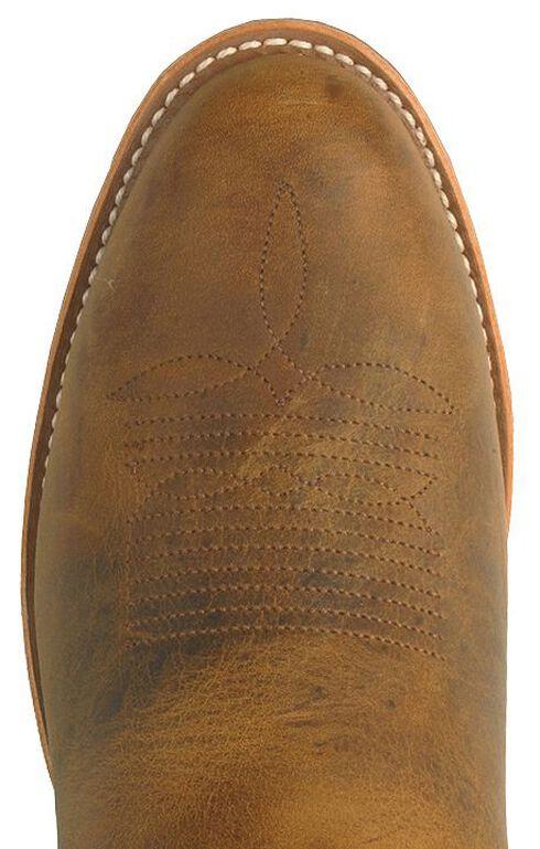 Double H Gel Ice Work Boots - Steel Toe, Brown, hi-res