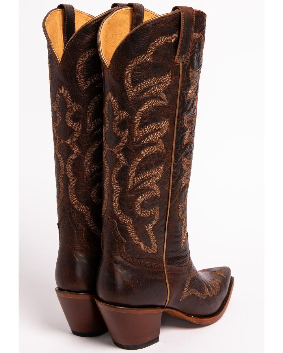 "Shyanne Women's Anna 14"" Western Boots - Snip Toe, Brown, hi-res"
