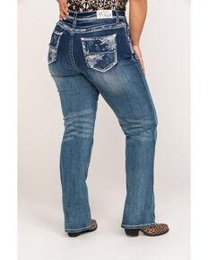 bb2c940eaff Grace In LA Womens Medium Straight Leg Jeans - Plus