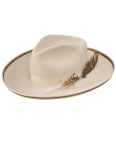 Stetson Women's Renegade Royal DeLuxe Felt Hat, Silver Belly, hi-res