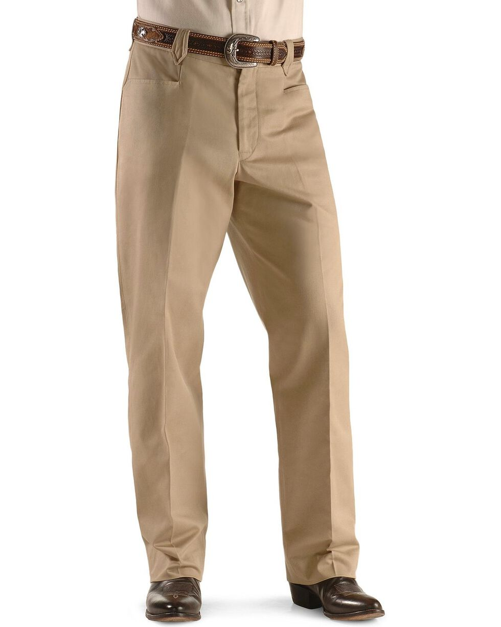 Miller Ranch Khaki Dress Slacks, Khaki, hi-res