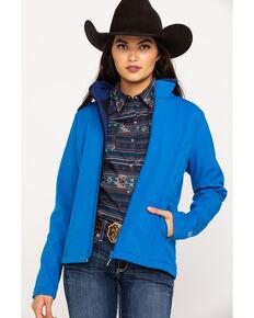 Roper Women's Blue Softshell Jacket, Blue, hi-res