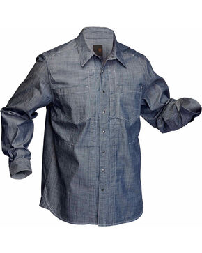 5.11 Tactical Chambray Long Sleeve Shirt, Chambray, hi-res