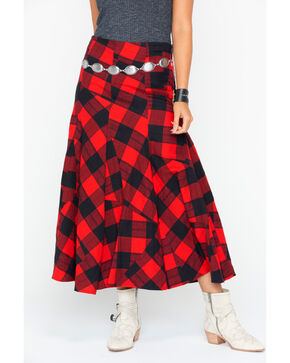 Tasha Polizzi Women's Dancing Skirt, Red, hi-res