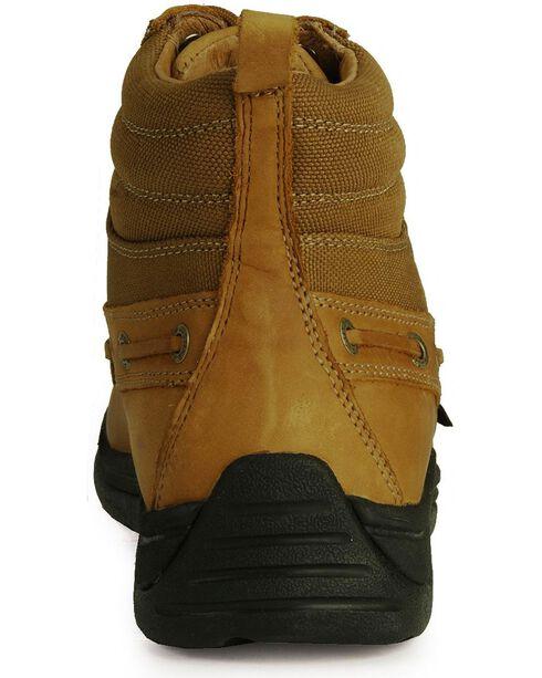 Justin Men's Chukka Lace-Up Boots - Round Toe, Tan, hi-res