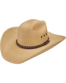 Jason Aldean Wheels Rollin' Palm Leaf Cowboy Hat , Rust Copper, hi-res