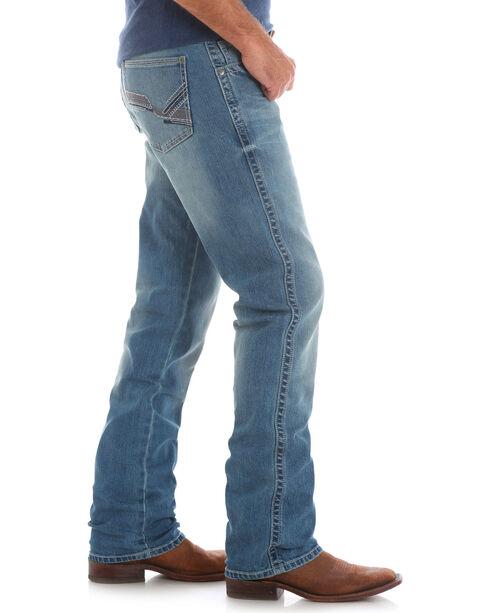 Wrangler Men's Indigo 20X No.44 Slim Fit Jeans - Straight Leg , Indigo, hi-res
