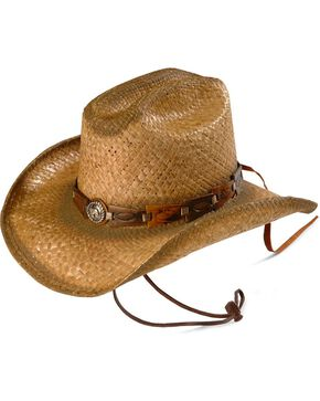 Bullhide Kids' Horse Play Straw Cowboy Hat, Natural, hi-res