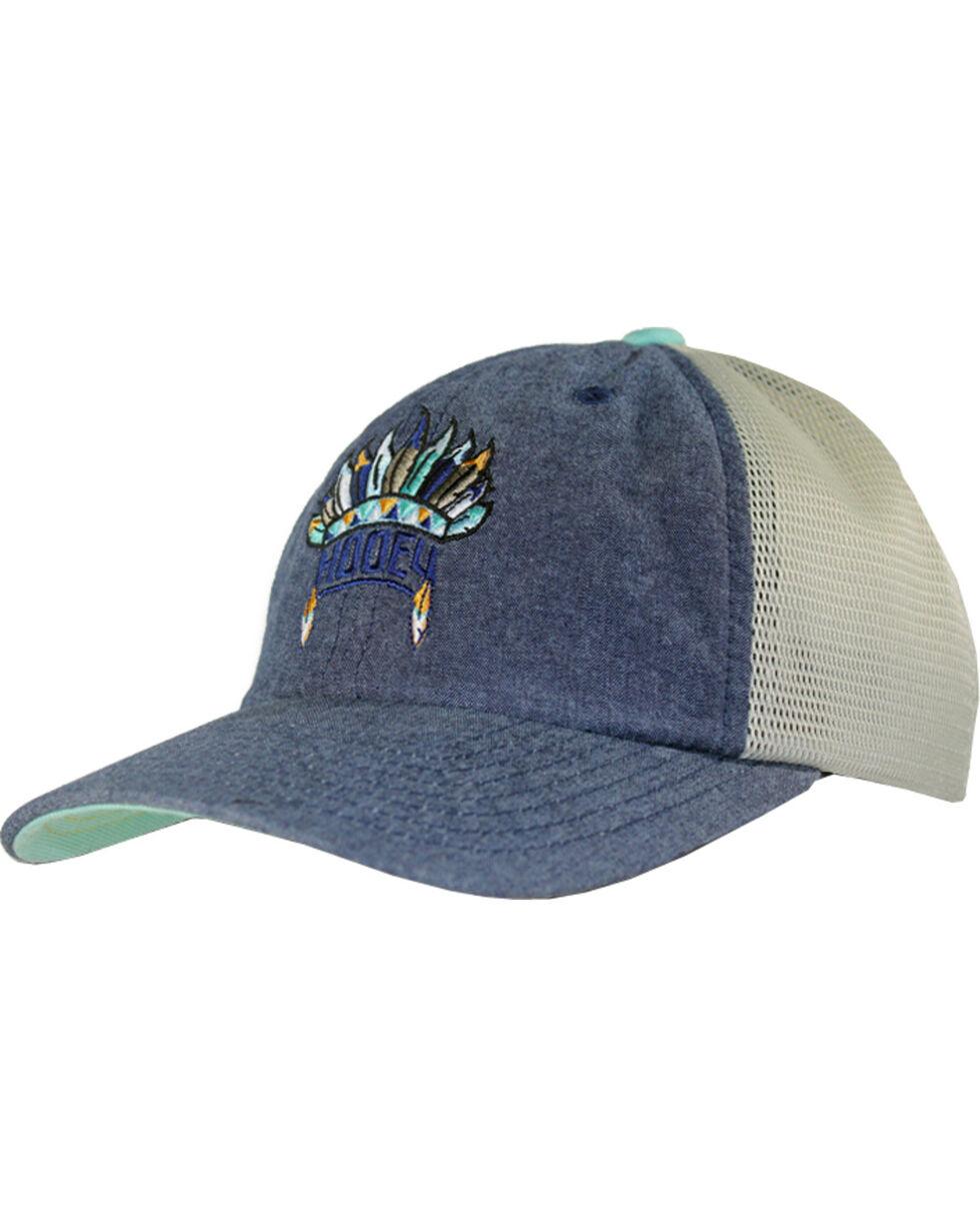 Hooey Women's Nana Headdress Logo Baseball Cap , Grey, hi-res
