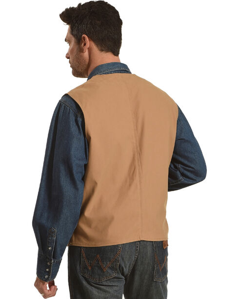 Wyoming Traders Men's Tan Texas Concealed Carry Vest, Tan, hi-res