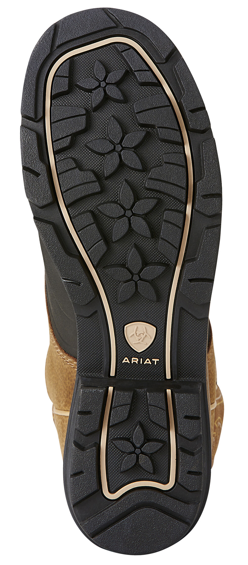 Ariat Caramel Brown Whirlwind Cowgirl Boots - Round Toe, Brown, hi-res