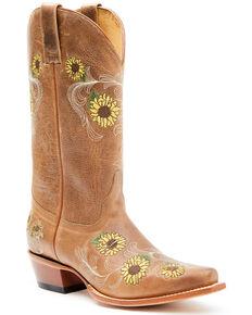 Shyanne Women's Joyln Western Boots - Square Toe , Brown, hi-res