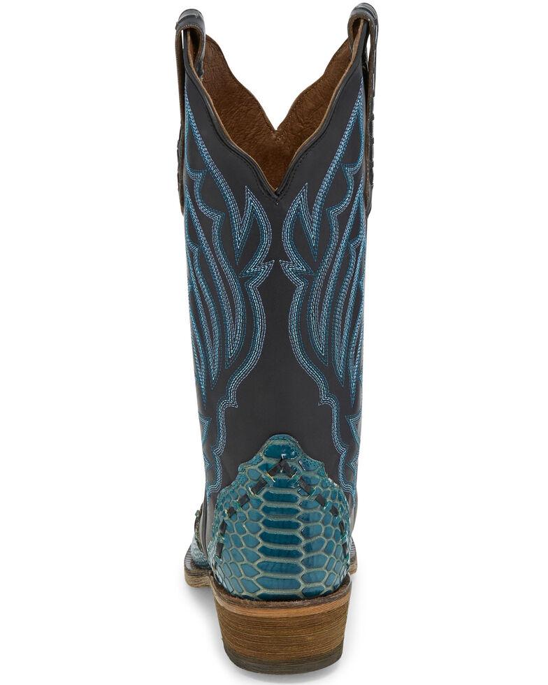 Nocona Women's Alize Western Boots - Snip Toe, Turquoise, hi-res