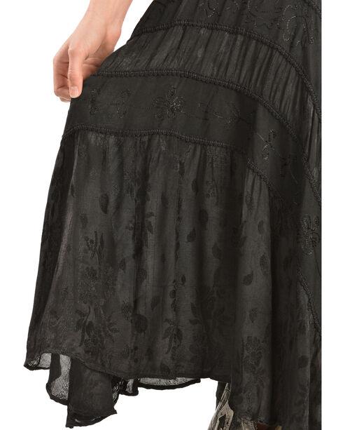 Scully Women's Lace-Up Jacquard Dress, Black, hi-res