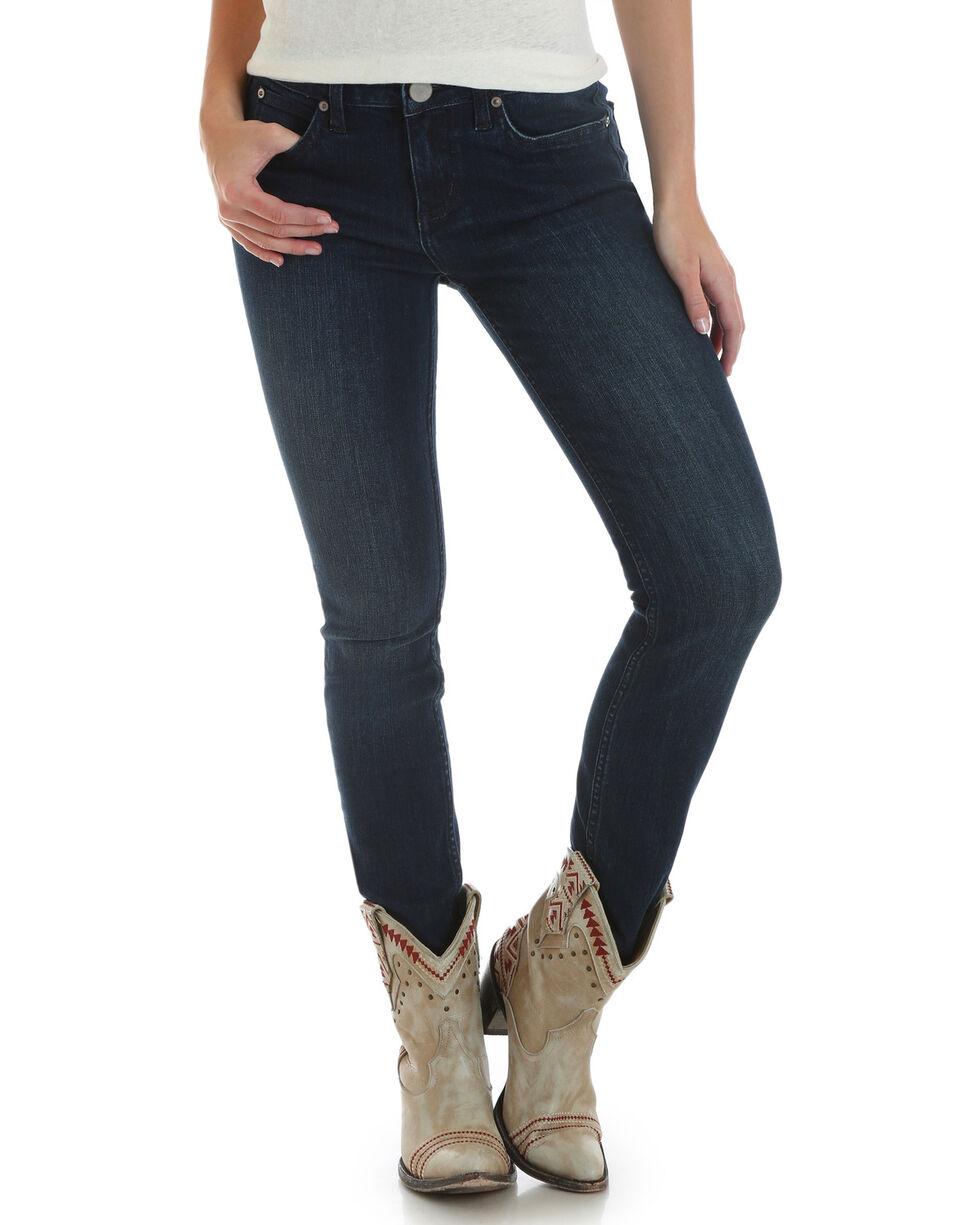Wrangler Women's Dark Wash Retro Mae Skinny Jeans , Indigo, hi-res