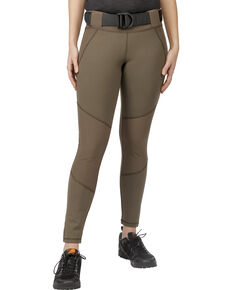 5.11 Tactical Women's Raven Range Tights , Olive Green, hi-res