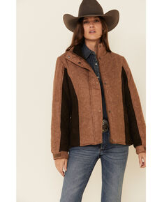Outback Trading Co. Women's Burlington Jacket , Tan, hi-res