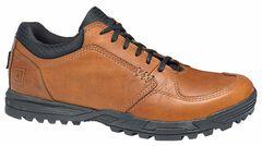 5.11 Tactical Men's Pursuit Lace-Up Shoes, Dark Brown, hi-res