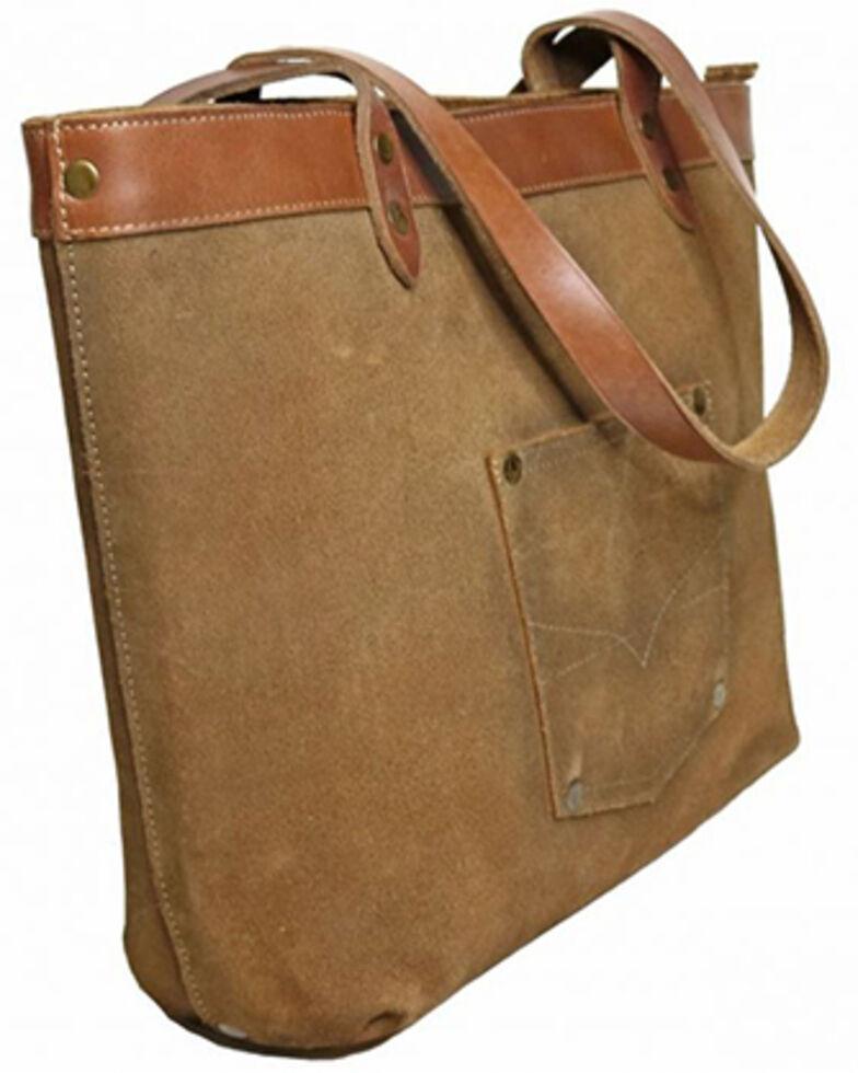 STS Ranchwear Women's Calvary Tote Bag, Brown, hi-res