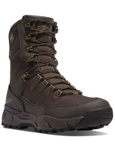 Danner Men's Vital Brown Hiking Boots - Soft Toe, Brown, hi-res