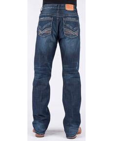 Stetson Men's 1312 Modern Fit Bootcut Jeans, Blue, hi-res