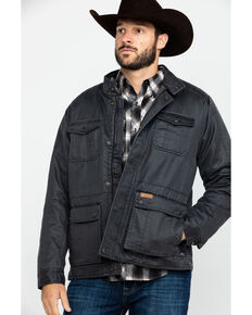 Outback Trading Co. Men's Rushmore Jacket , Charcoal, hi-res