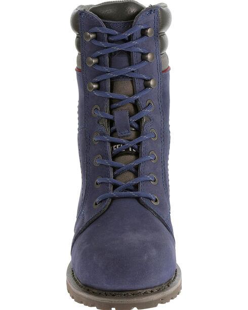 Caterpillar Women's Purple Echo Waterproof Work Boots - Steel Toe , Purple, hi-res