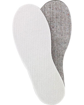 Yaktrax Unisex Cut-to-Fit Thermal Insoles, Silver, hi-res