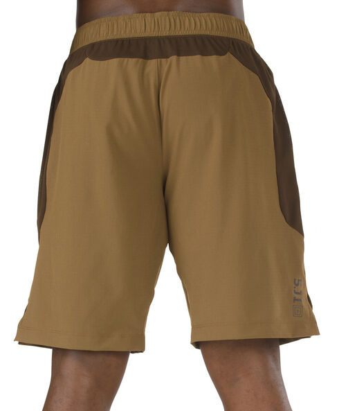 5.11 Tactical Men's Recon Performance Training Shorts, Brown, hi-res
