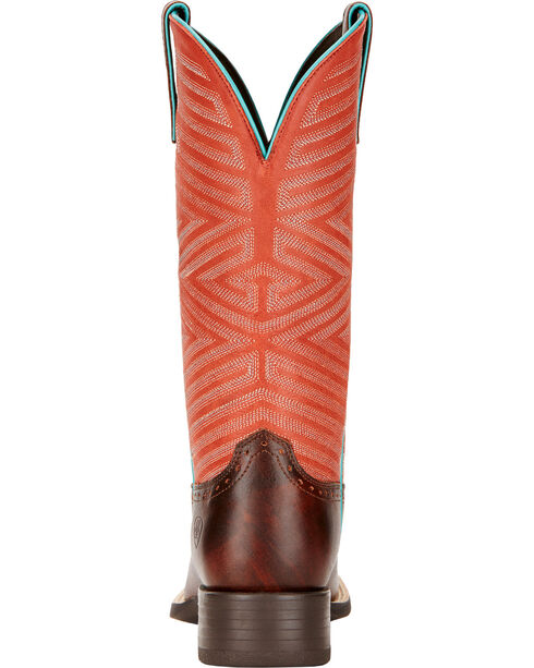 Ariat Women's Outsider Cowgirl Boots - Square Toe , Brown, hi-res