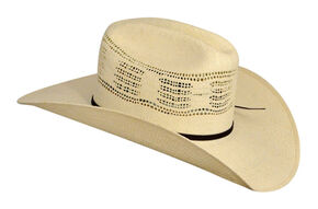 Bailey Ricker Straw Cowboy Hat, Natural, hi-res