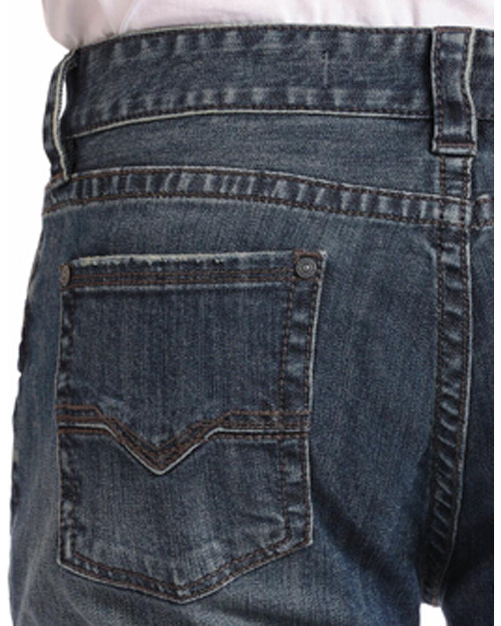 Rock & Roll Cowboy Men's Reflex Double Barrel Relaxed Fit Jeans - Boot Cut, Dark Blue, hi-res