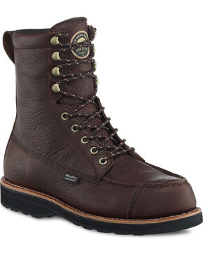 "Irish Setter by Red Wing Shoes Men's 9"" Wingshooter UltraDry Work Boots , Brown, hi-res"
