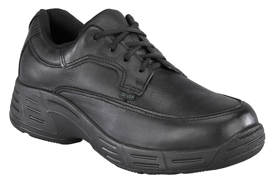 Florsheim Women's Postal Oxford Shoes - USPS Approved, Black, hi-res