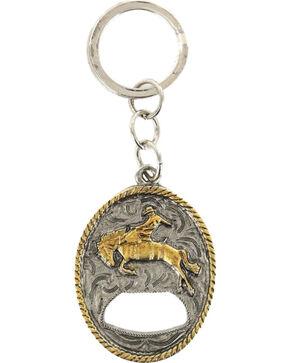 Cody James® Bucking Bronc Bottle Opener Keychain, Multi, hi-res