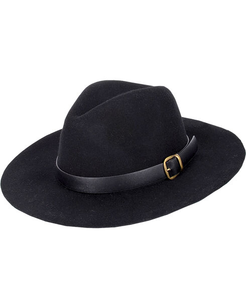 Peter Grimm Women's Maxton Wool Felt Hat, Black, hi-res