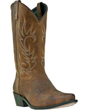 Laredo Basic Cowboy Boots - Snip Toe, Tan, hi-res