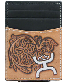 HOOey Men's Signature Money Clip, Black, hi-res