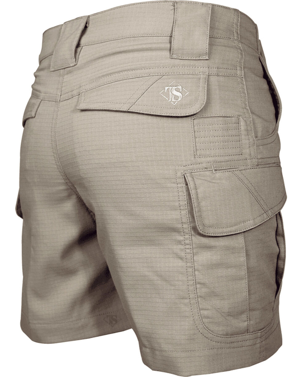 """Tru-Spec Women's 24-7 Series 6"""" Ascent Shorts - Extended Sizes, Beige/khaki, hi-res"""