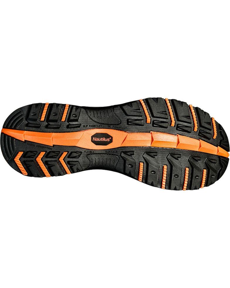 Nautilus Men's EH Athletic Work Shoes - Comp Toe, Brown, hi-res