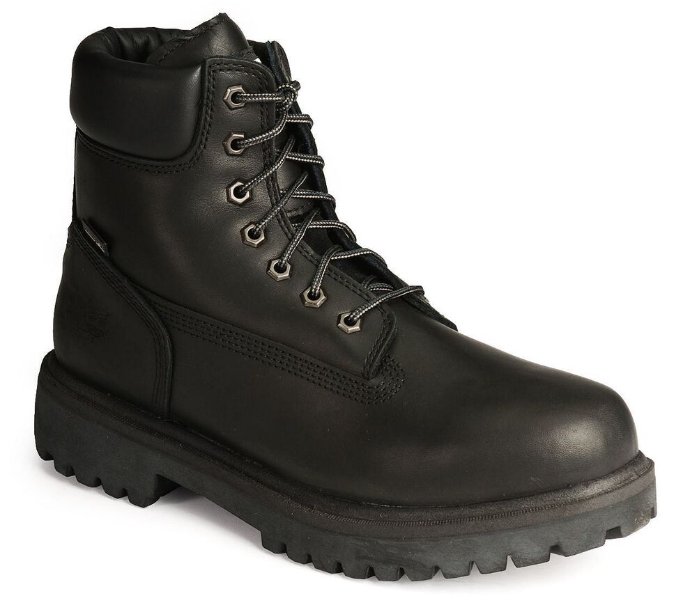 """Timberland PRO 6"""" Waterproof Insulated Work Boots, Black, hi-res"""