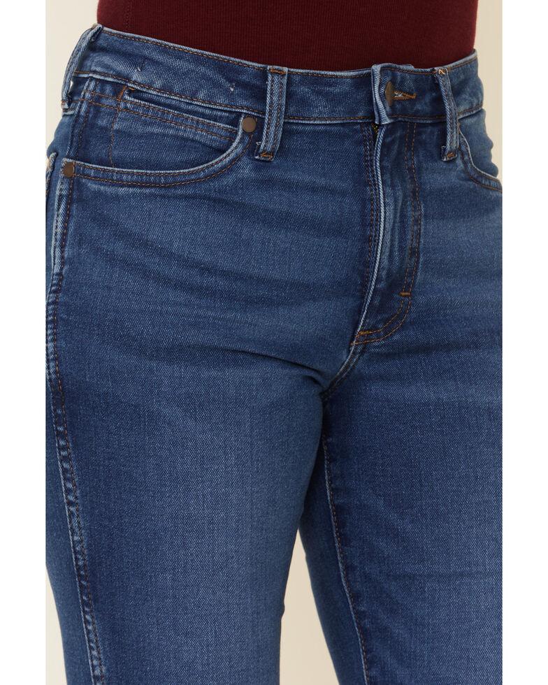 Wrangler Retro Women's Blair Flare Leg Jeans, Blue, hi-res