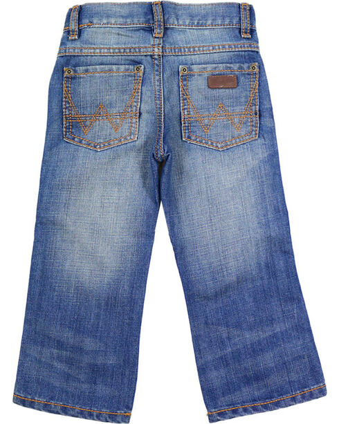 Wrangler Boys' Blue Retro Relaxed Fit Jeans - Boot Cut , Blue, hi-res