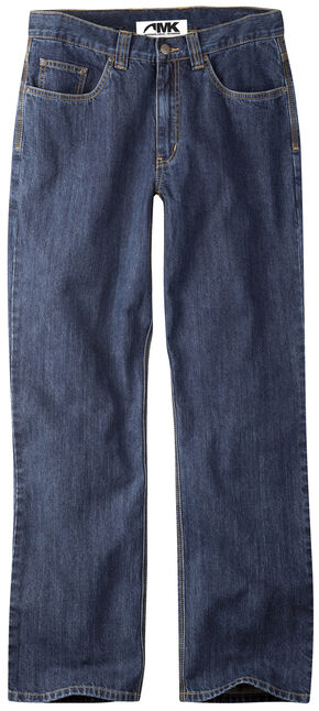 Mountain Khakis Men's Original Mountain Classic Fit Jeans, Navy, hi-res